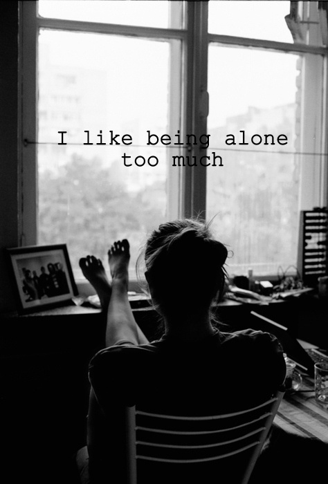I Like Being Alone