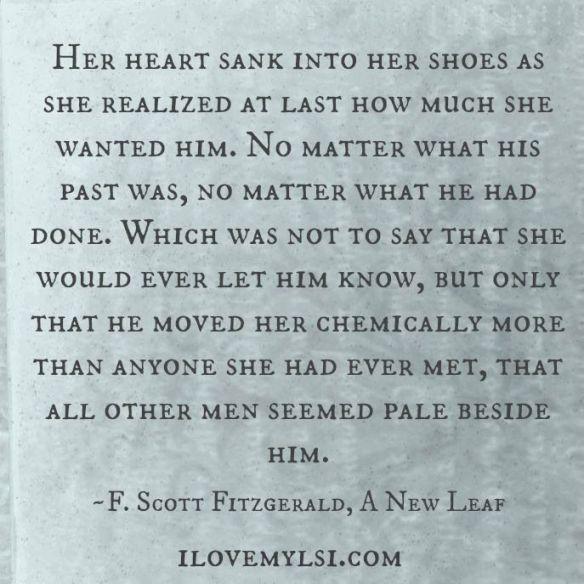 Her heart sank