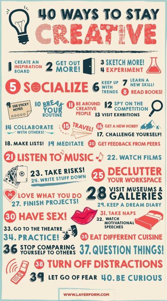 40 ways creative