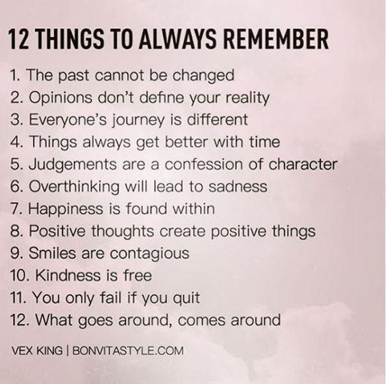 12 things